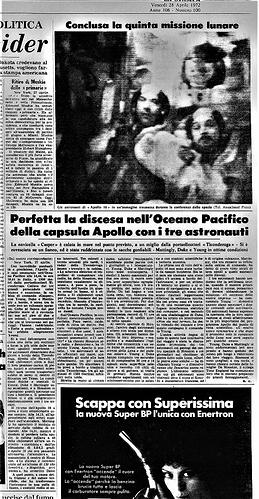 apollo 16 1972 04 28 2 La Stampa