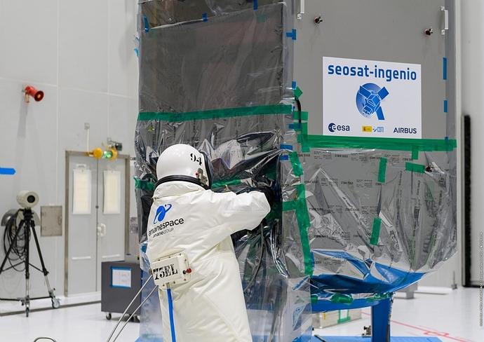 Fuelling of SEOSAT-Ingenio