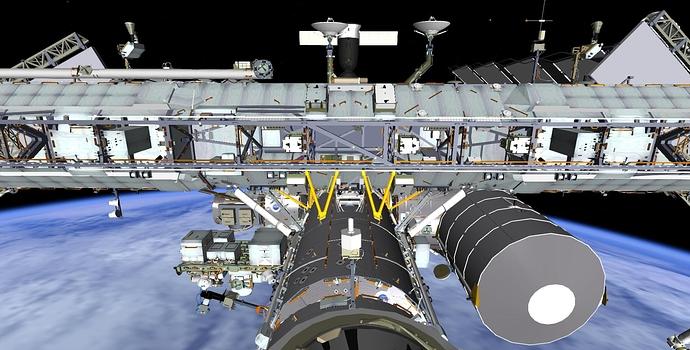 Truss to module 3