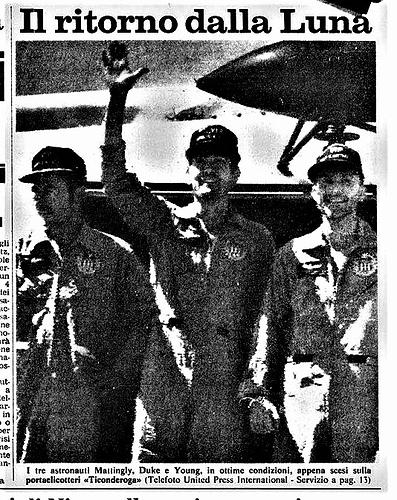 apollo 16 1972 04 28 1 La Stampa