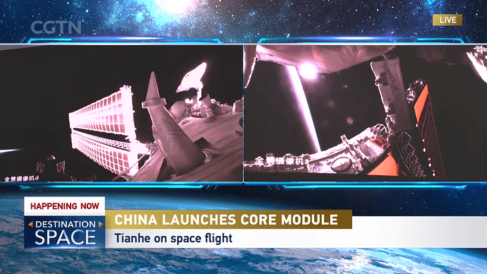 Live_ Special coverage on China's first space station mission 2-6-46 screenshot