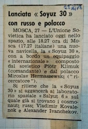 Soyuz 30  2