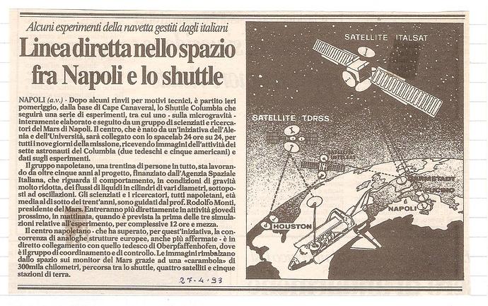 Lancio STS-55