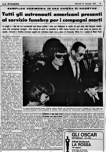 tragedia Apollo 1- La Stampa  3