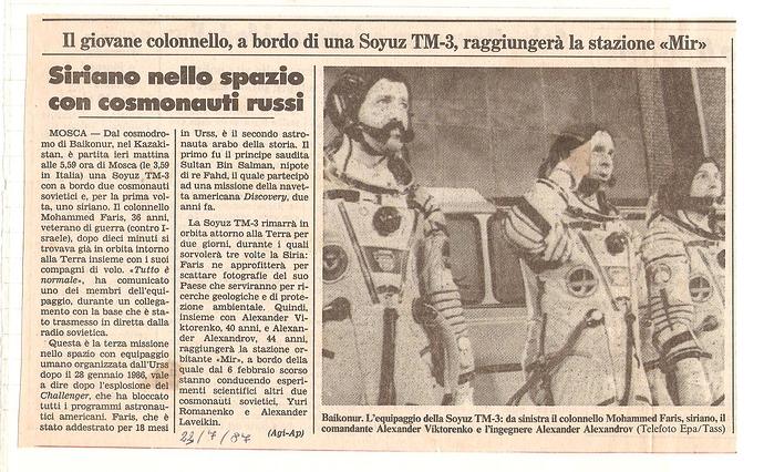 Soyuz TM-3 1