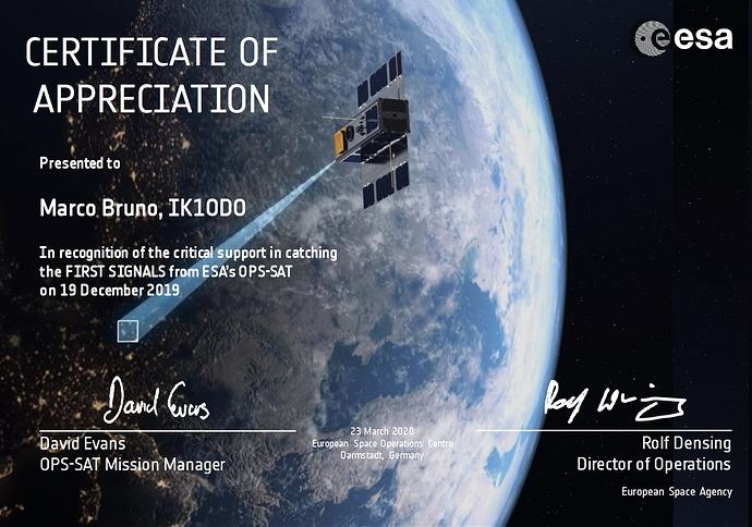 opsat certificate