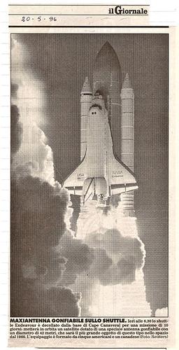 lancio STS-77