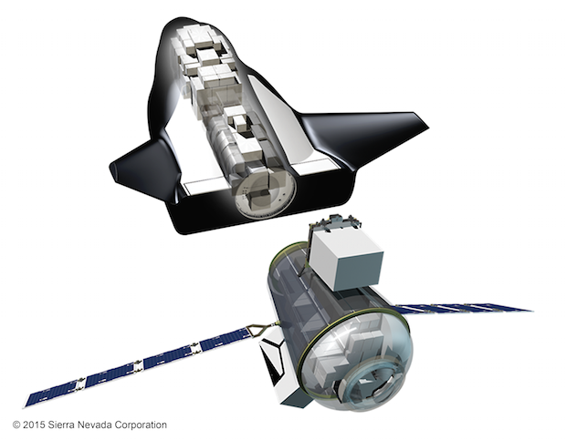Sierra-Nevada-Corporations-Uncrewed-Dream-Chaser-with-Cargo-Module-and-visible-cargo_Credited1