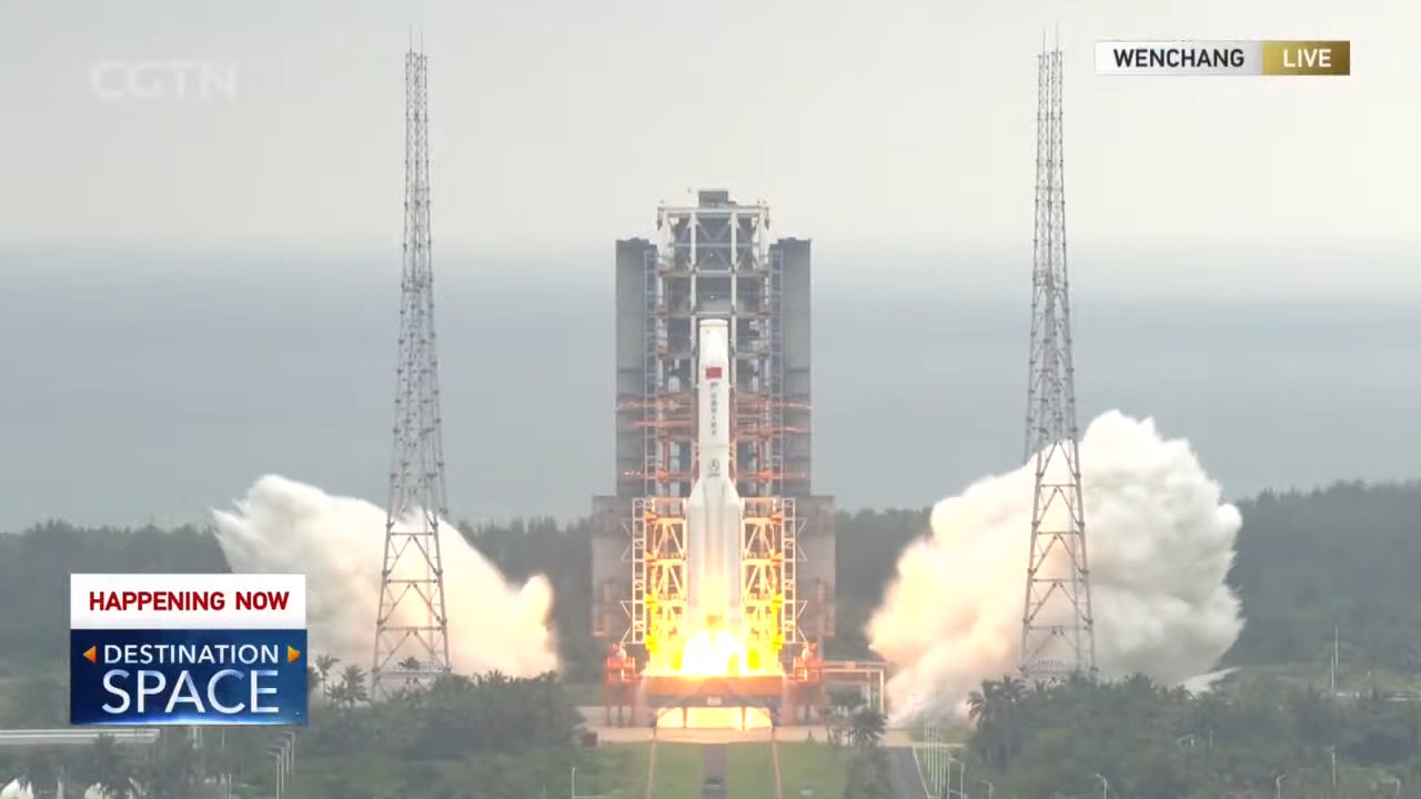 Live_ Special coverage on China's first space station mission 52-57 screenshot